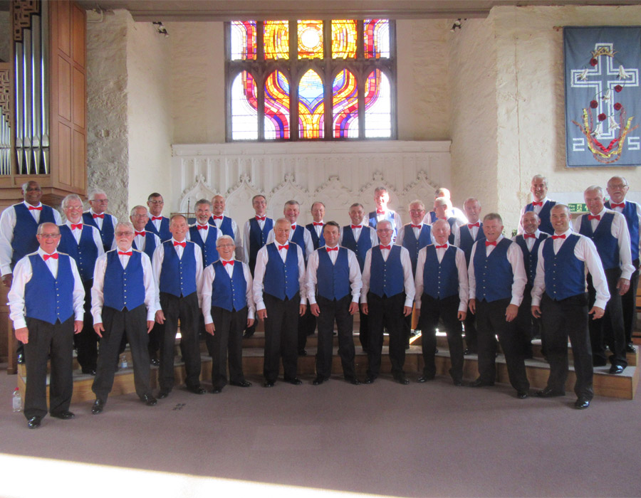 Glorious Chorus in concert with the Kingsmen