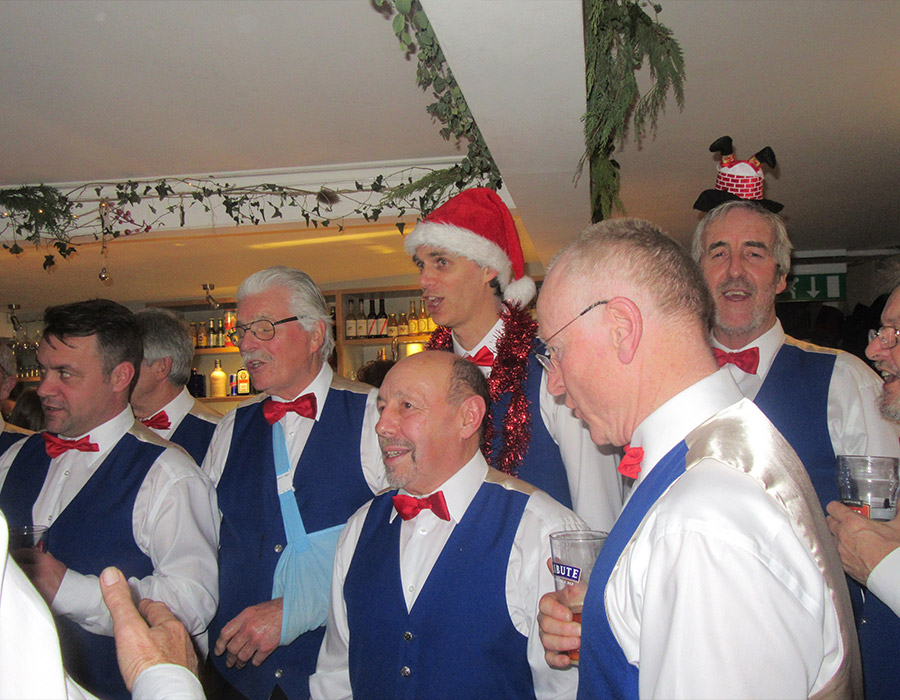Kingsmen perform on Christmas Eve for the 20th year in succession