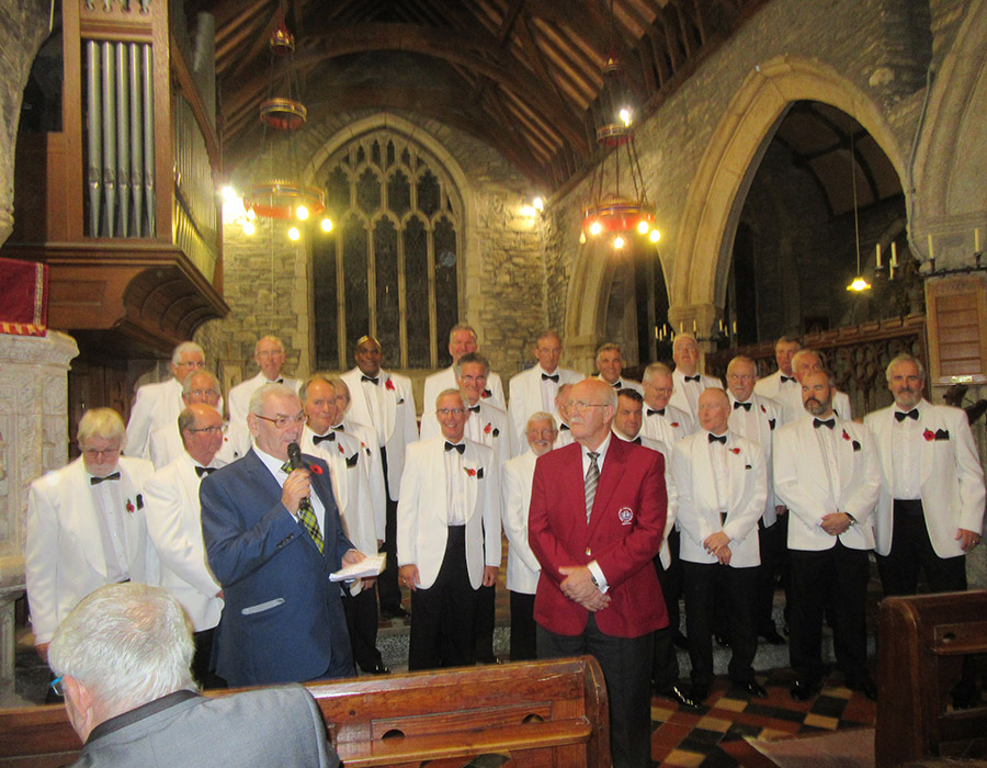 Kingsmen & Wadebridge Male Voice Choir (MVC) Joint Concert