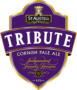 St Austell Brewery tribute pump logo
